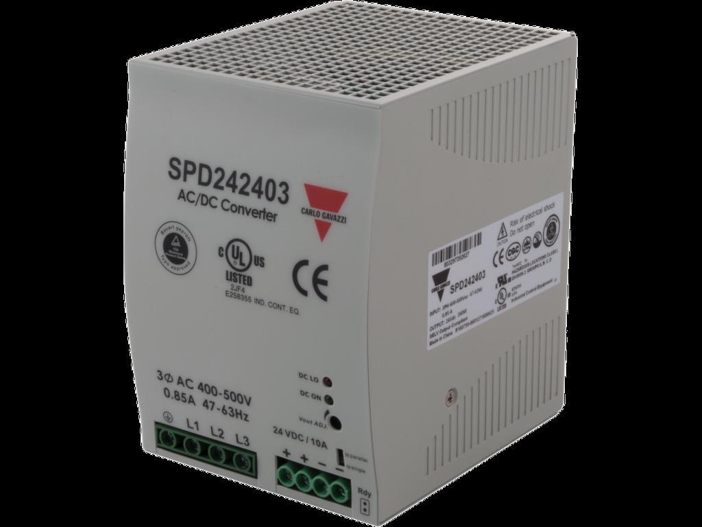 Schaltnetzteil DIN 3-Phasen 240W