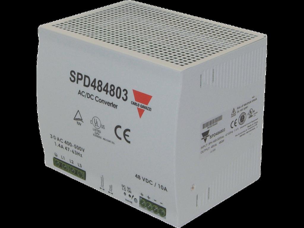 Schaltnetzteil DIN 3-Phasen 480W