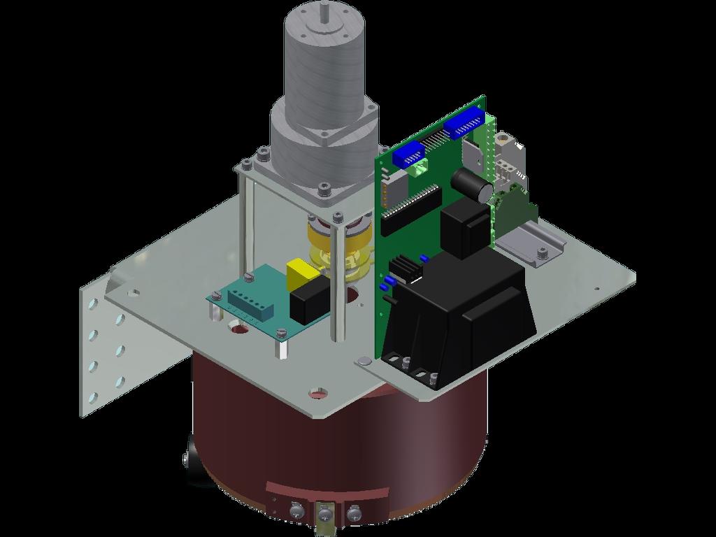 Stelltransformator 1-Phasen mit Motorantrieb