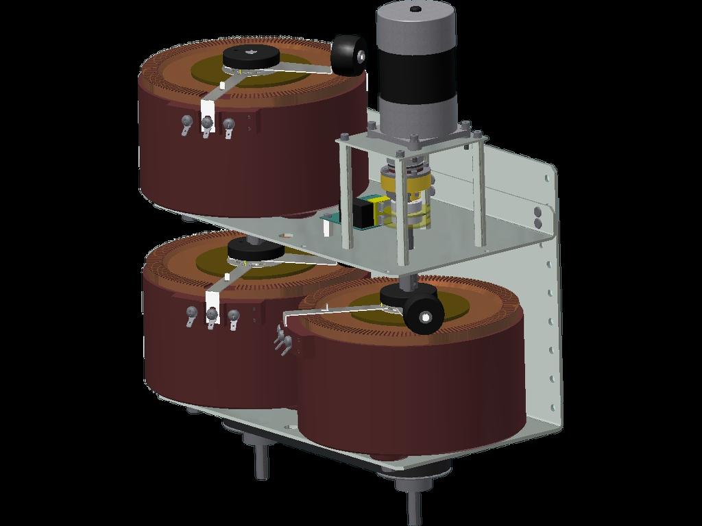 Stelltransformator 3-Phasen mit Motorantrieb